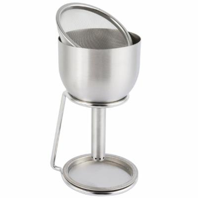 The Splay Aerating Decanting Funnel with Stand, Stainless Steel