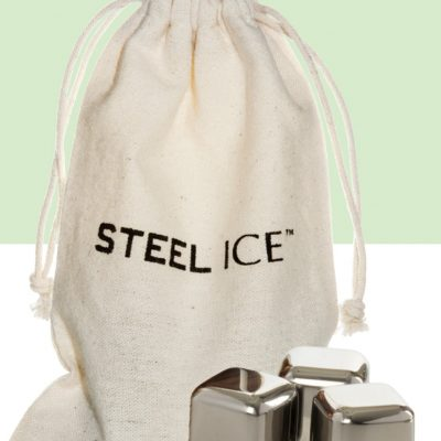 Steel-Ice™ Cubes (3 Cubes with Cotton Sack), Mini Set