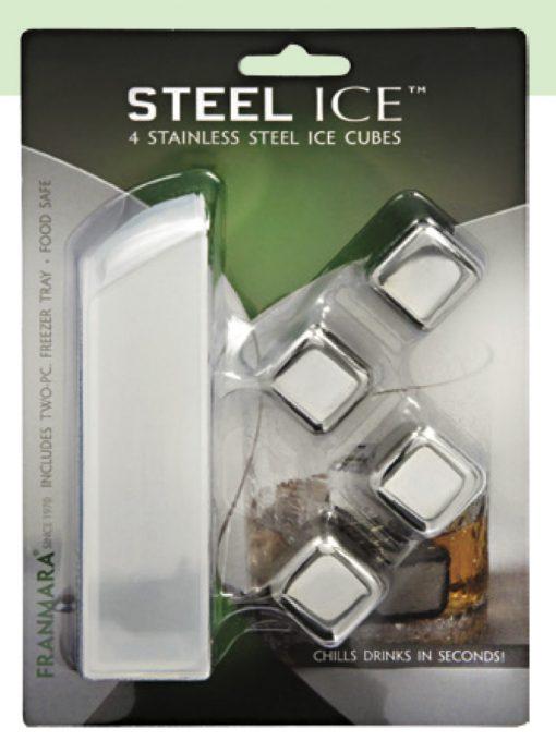 Steel-Ice™ Cubes (4) Deluxe Set