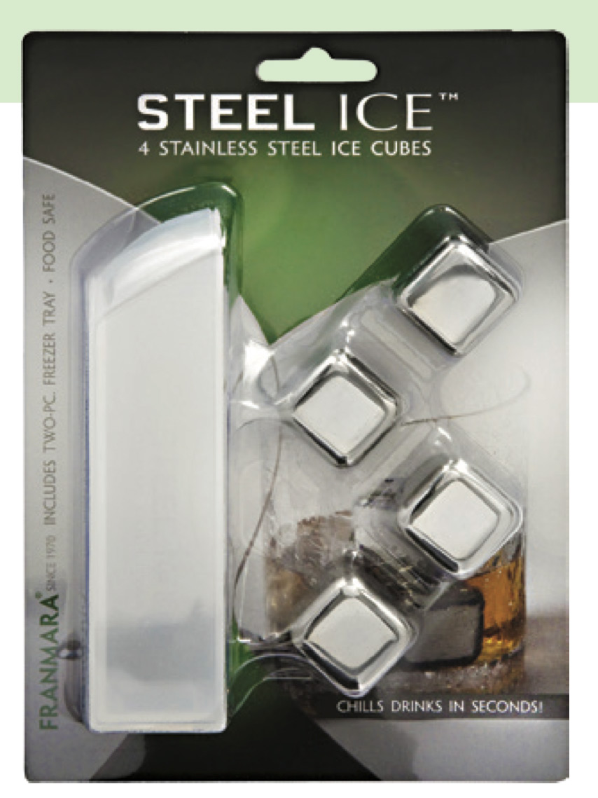Steel-Ice™ Cubes (4) Deluxe Set