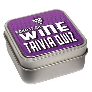 Wine Trivia Quiz Cards