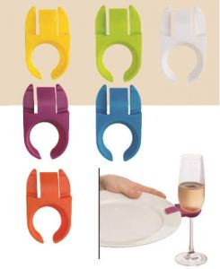 Party Plates with Wine Glass Holder Archives - Artisan Wine and Food ...