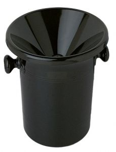 Wine Tasting Receptacle (Spittoon), Black Acrylic