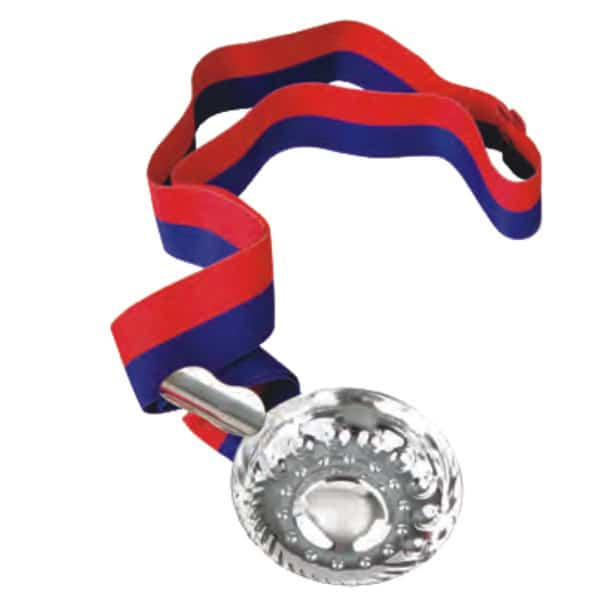 Classic Tastevin, Silver Plated with Ribbon