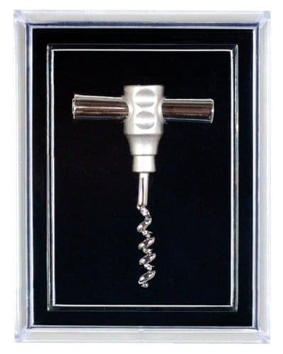 Pocket Corkscrew Pin, Gold or Silver