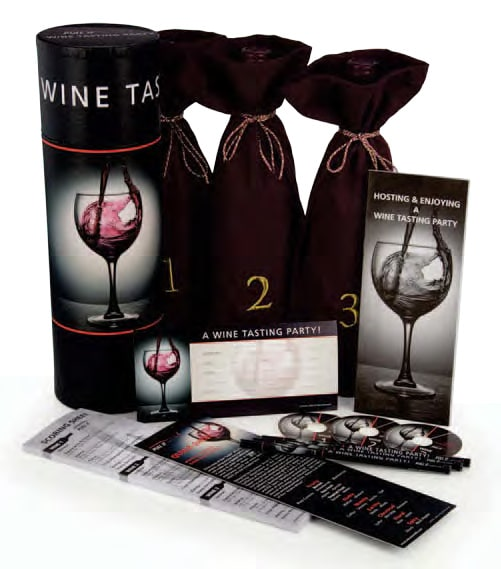 Wine Tasting Party Kit, Consumer Set