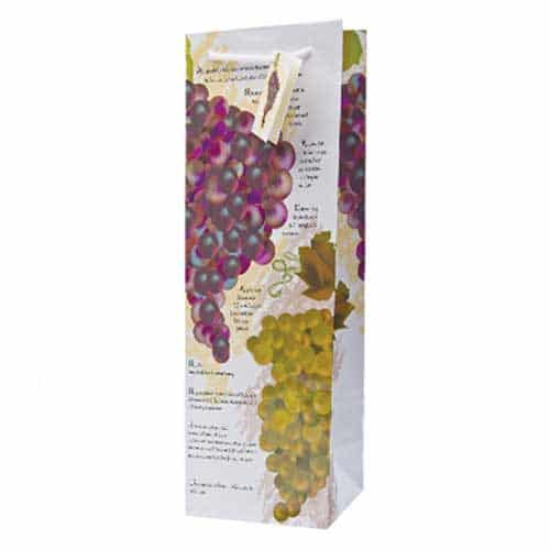 Toast of the Town – Paper Wine Bottle Gift Bag