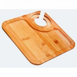 Bamboo Wine Party Plate, Square