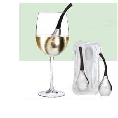 Cool-Bell™ Wine Glass Cooler, Set of Two with Case