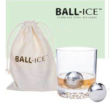 Ball-Ice™ Cube Set of 2 w/Cotton Bag