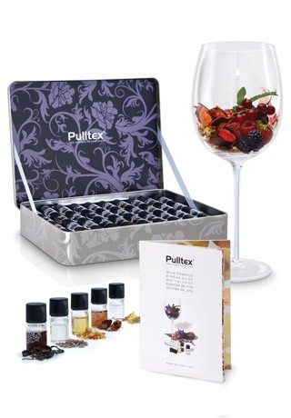 Complete Wine Essence Set Collection, 40 Aromas, for Training the Senses