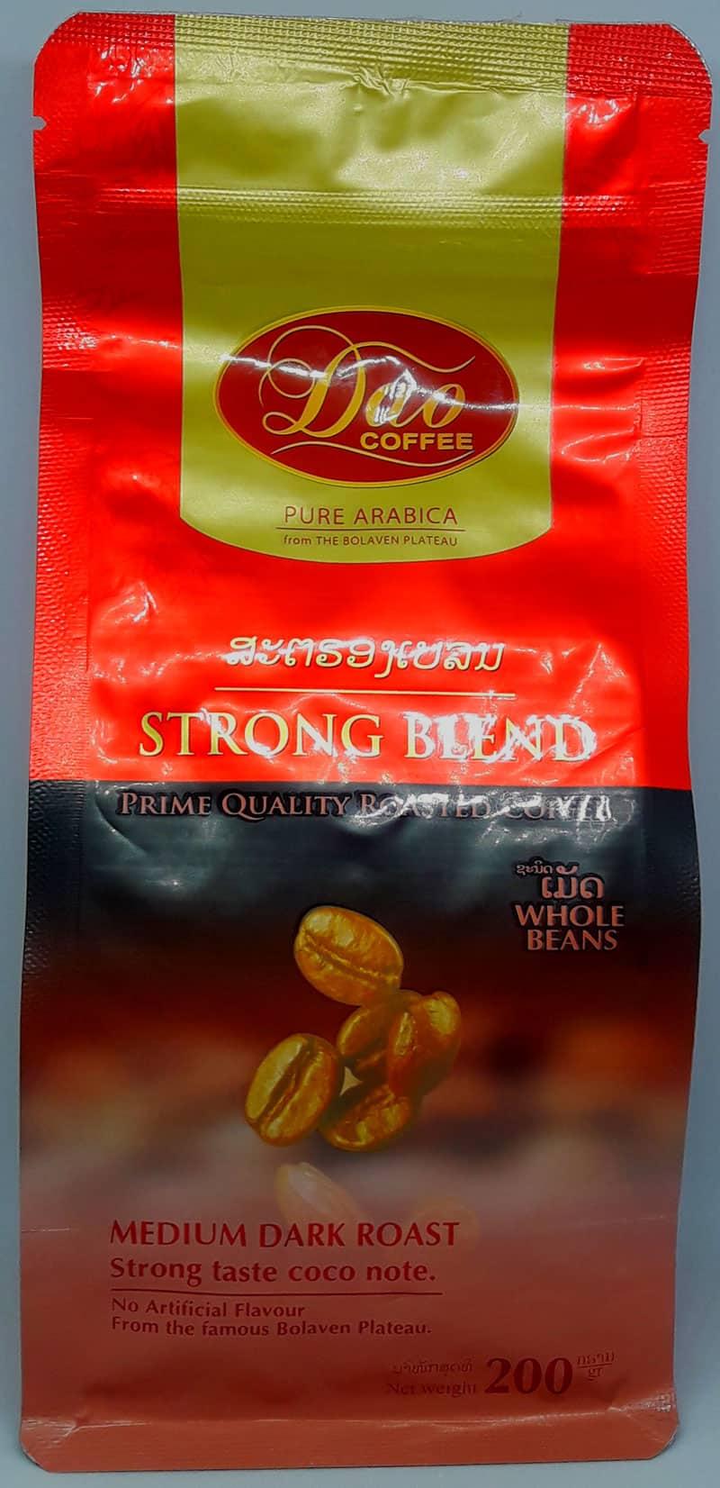 Dao Pure Arabica Strong Blend Medium Dark Roasted