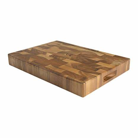 Rectangle end-grain cutting board, large, Engrave