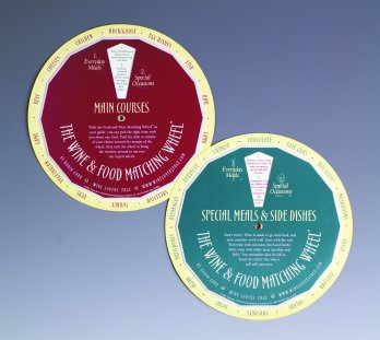 Wine and Food Matching Wheels by Robin Garr