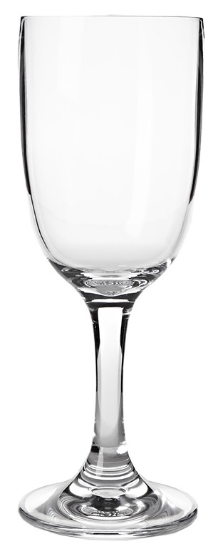 Indoor/Outdoor Wine Glass, Acrylic-Full Color- Imprint