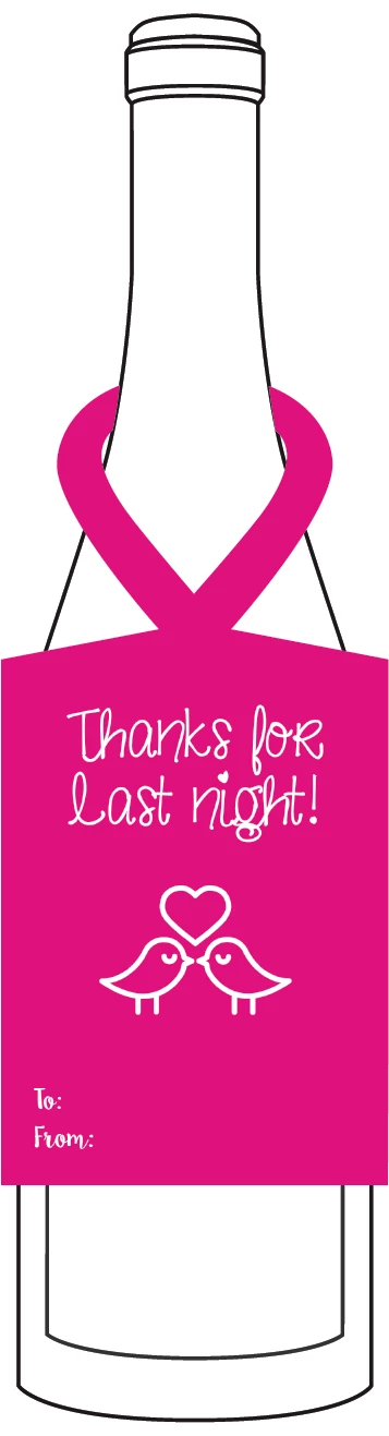 Thanks for last night!